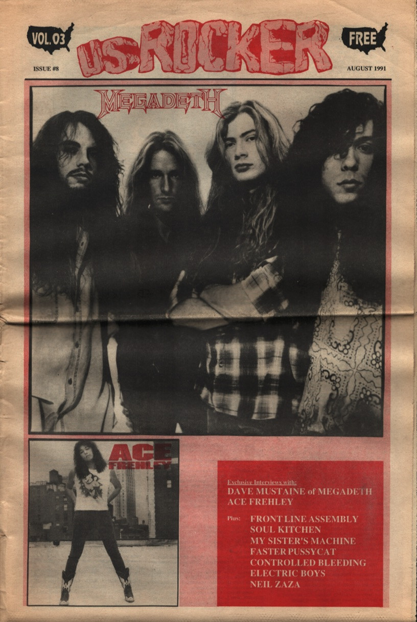 U.S. Rocker, August 1992