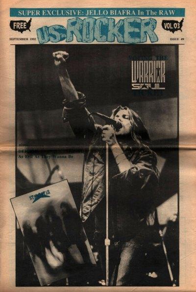 U.S. Rocker, September 1992