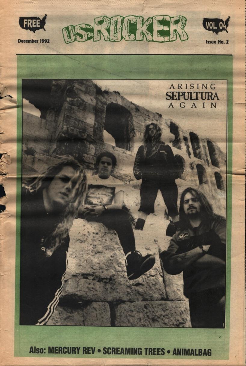 U.S. Rocker, December 1992