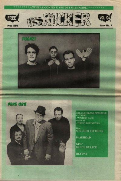 U.S. Rocker, May 1993