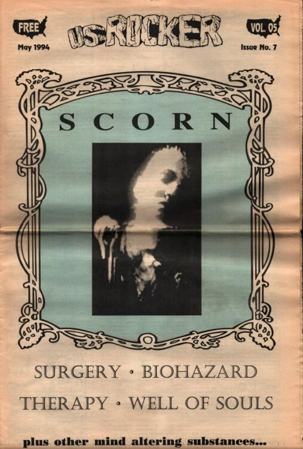 U.S. Rocker, May 1994 Cleveland Scorn Surgery Biohazard Well Of Souls
