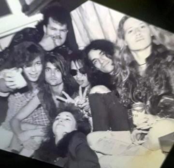Brenda Mullen Trent Weller Spread Eagle U.S. Rocker tour bus