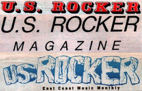 U.S. Rocker logo evolution early 1990s