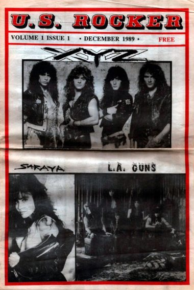 U.S. Rocker Issue 1 1989 Cleveland Brenda Mullen Trent Weller