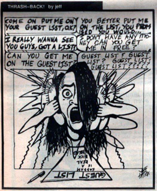 Jeff Hatrix Jeffrey Nothing Mushroomhead U.S. Rocker cartoon