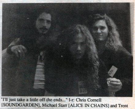 Chris Cornell Soundgarden Michael Starr Alice in Chains Trent Weller U.S. Rocker Cleveland