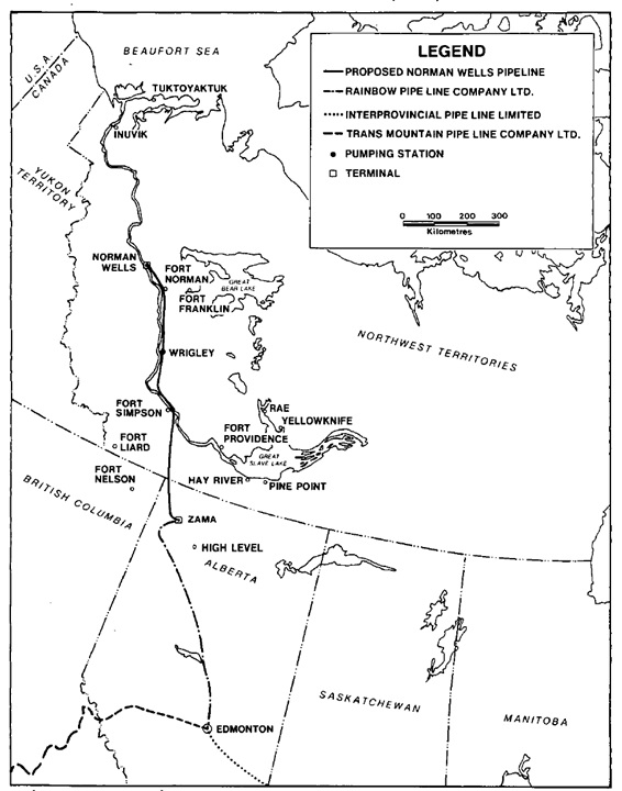 norman-wells-pipeline-map
