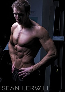 perseverance helped Sean Lerwill get his lean ripped shredded cover model body