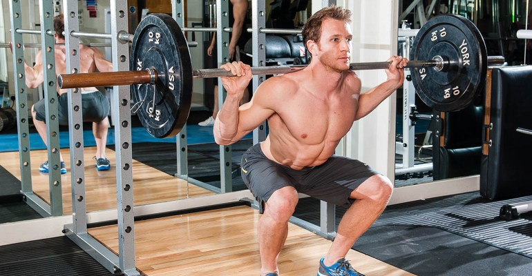 Sean Lerwill barbell squat