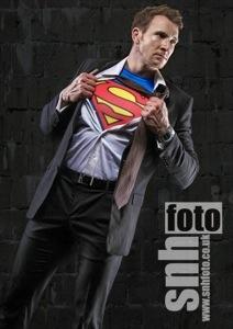 Sean Lerwill as Superman (Credit: snhfoto)