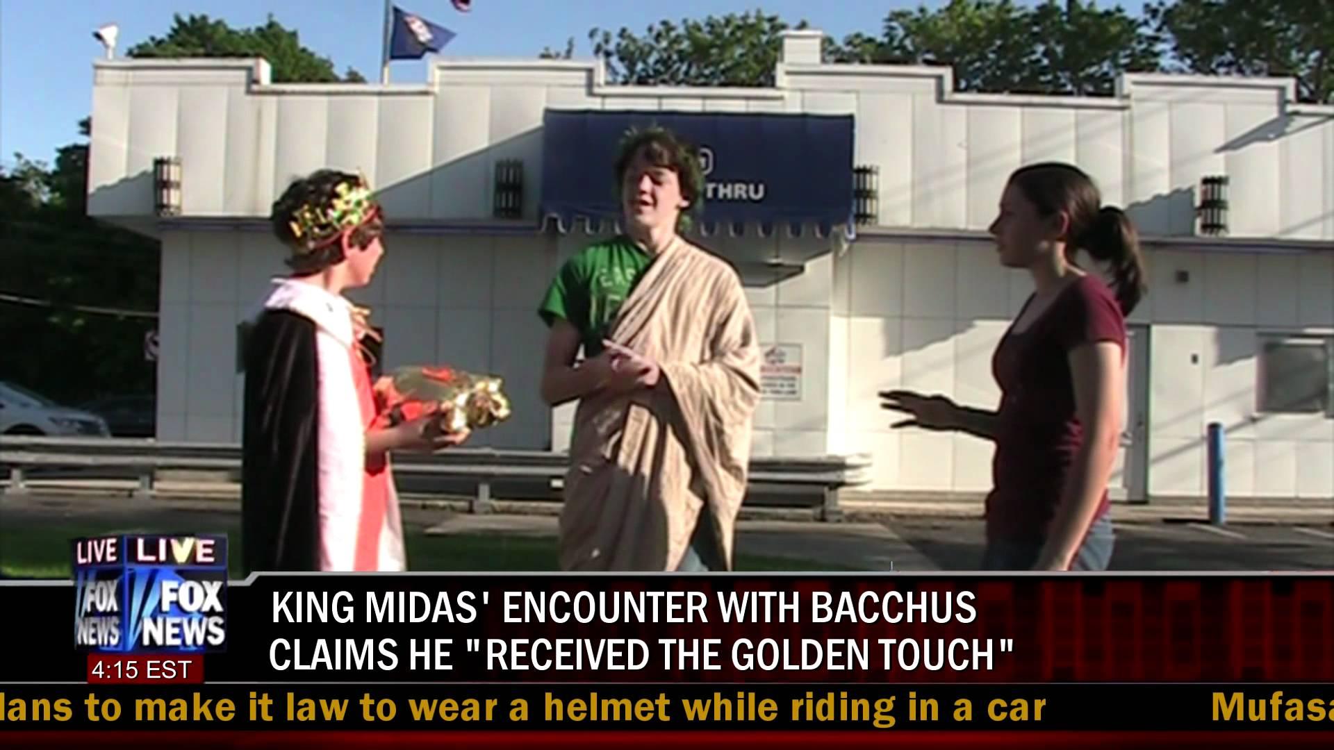 King Midas English Project