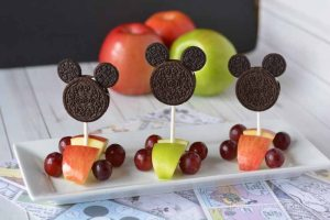Mickey Race Car Snack