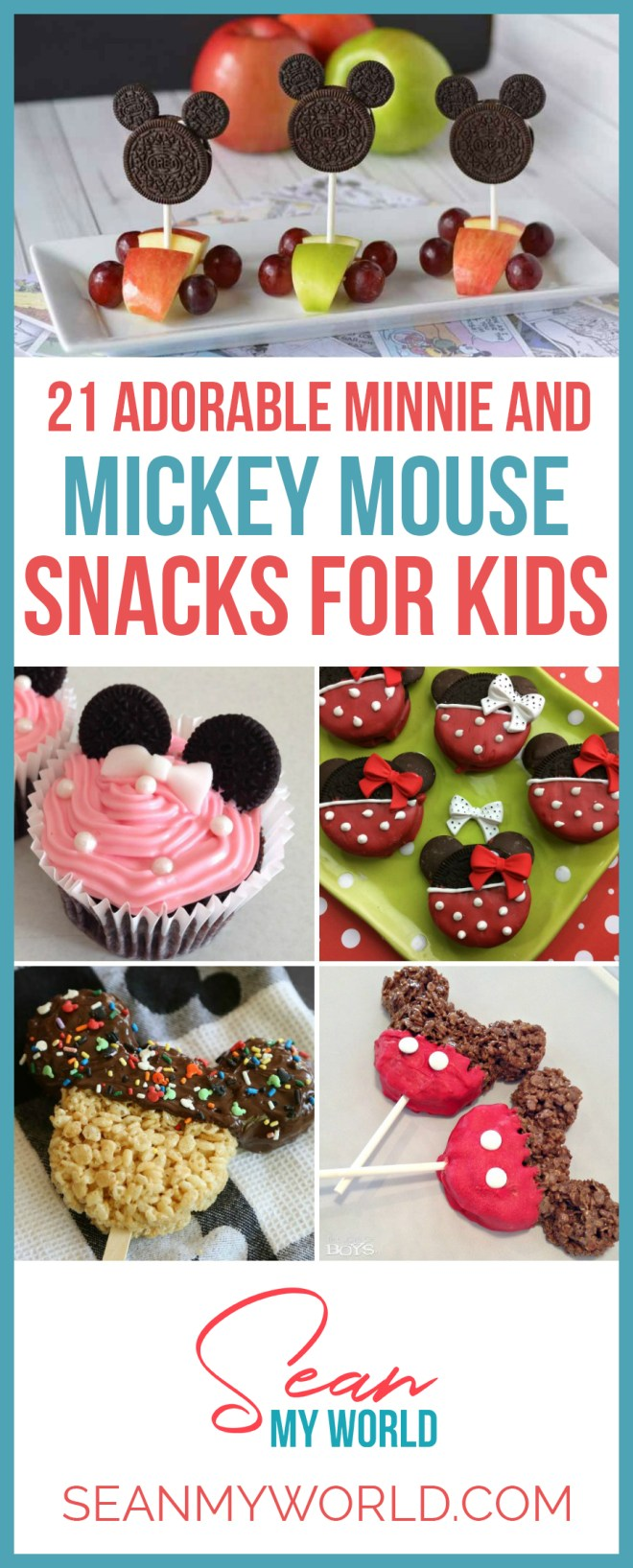 Looking for Mickey Mouse snack ideas for kids? Here are 21 adorable Minnie Mouse and Mickey Mouse snack ideas that kids will love.