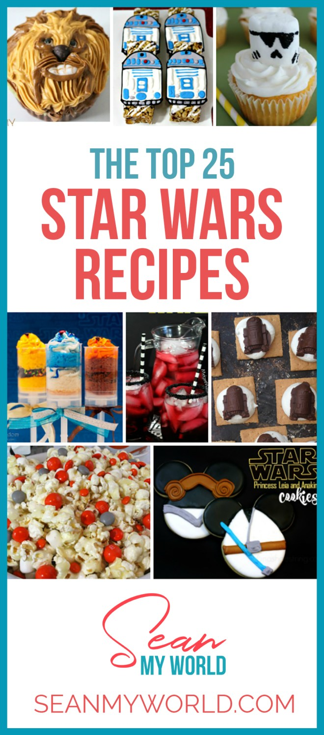 If you're a Star Wars fan, you'll love these Star Wars snacks recipes. Kids adore them, but adults can't get enough of these Star Wars snacks either!