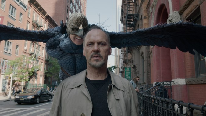 Hero's Journey: Riggan Thomson (Michael Keaton) attempts to emerge from the shadow of Birdman