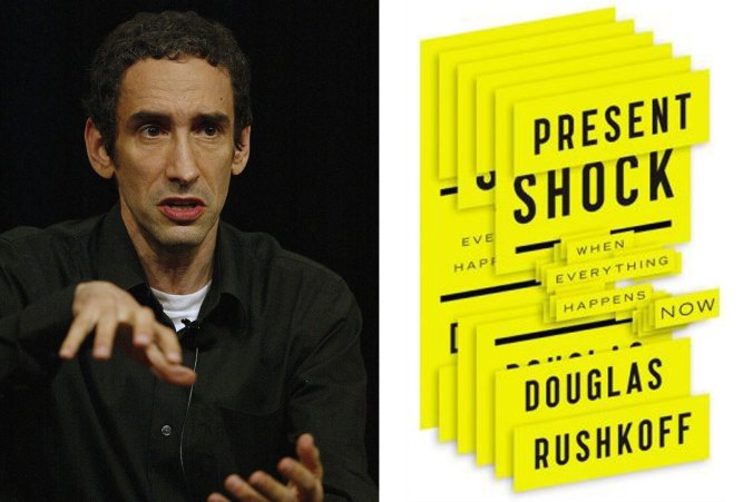 "Media theorist Douglas Rushkoff and ""Present Shock"""
