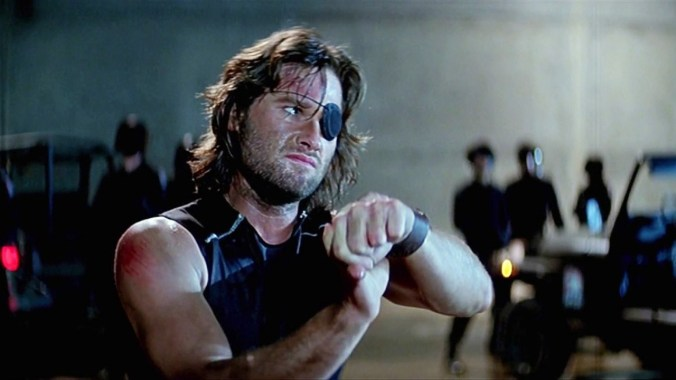 """Welcome to the human race"" (Kurt Russell as Snake Plissken)"