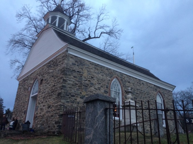 A photo I took on December 22, 2013 of the Old Dutch Church of Sleepy Hollow, built 1697