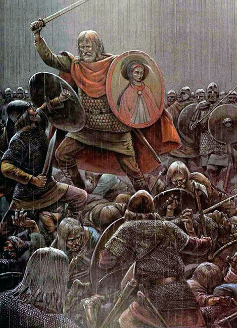Arthur at the Battle of Mount Badon