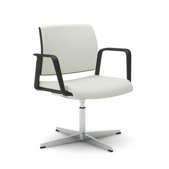 office 805 chaise de bureau avec accoudoirs pivotante reglable en hauteur seanroyale