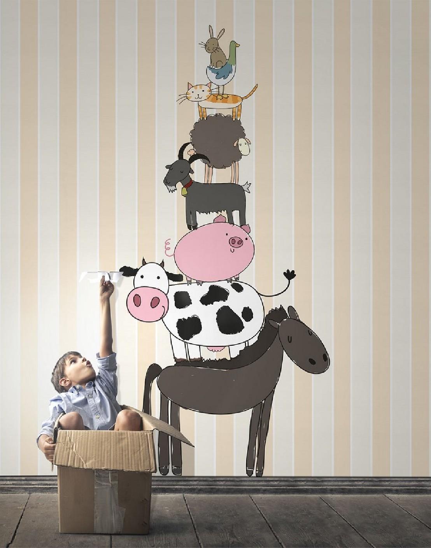 papier peint enfants dessins animaux