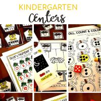 The Most Engaging October ESL Centers for Kindergarten Free Download!