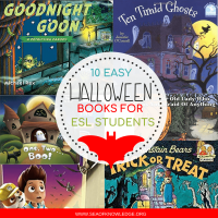 Halloween Books for Kids in ESL Setting - Must See Easy Reads!