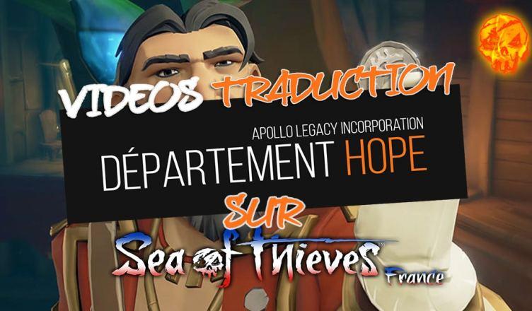 DEPARTEMENT HOPE