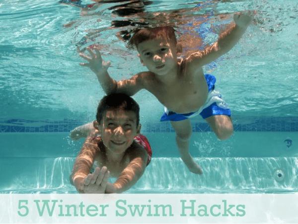 5 Winter Swim Hacks