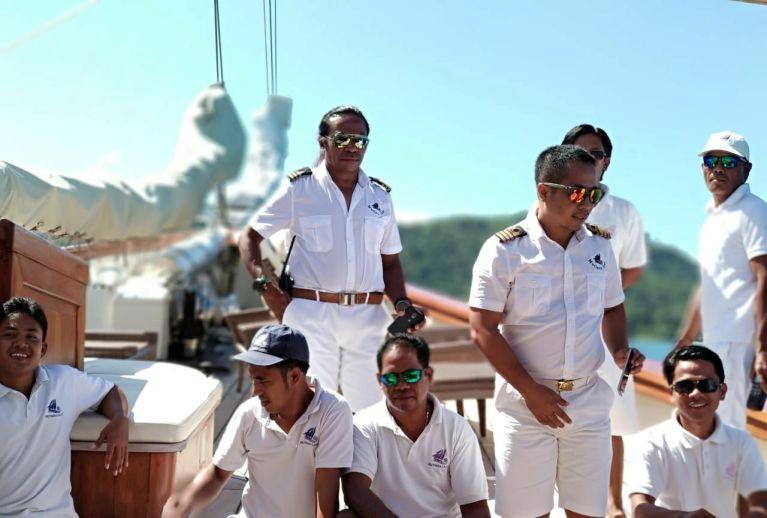 Crew MSY Mutiara Laut 2018