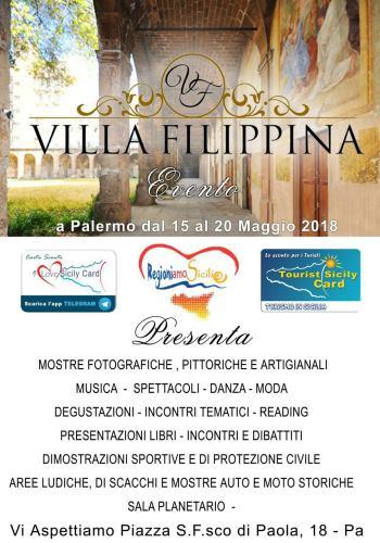 Regioniamo Sicilia 2018 a Villa Filippina