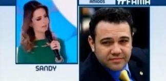 Sandy diz que Marco Feliciano tem cabeça 'atrasada e retrógada'