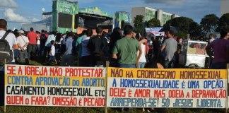A fé cristã está sob risco no Brasil.