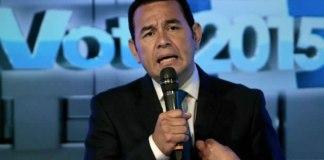 Evangélico: Novo presidente da Guatemala é eleito após prometer pôr fim à corrupção