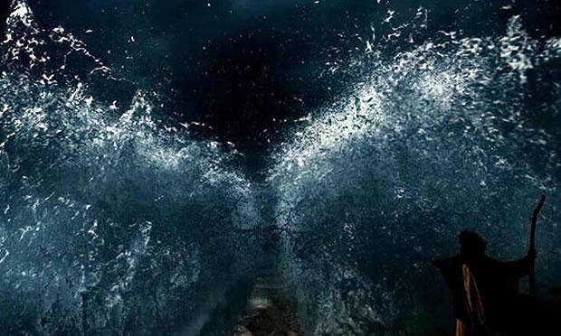 Com exibição da tão esperada cena do Mar Vermelho, Record atinge 31 pontos de audiência