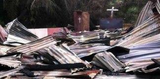 Nove igrejas são demolidas na Indonésia