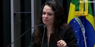 "Deus iniciou o impeachment"", declara Janaína Paschoal ao Senado"