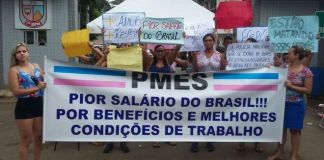 Mães, esposas e filhos de PMs do ES reivindicam melhores condições de trabalho