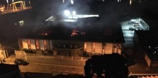 Incêndio atinge Igreja em Vitória
