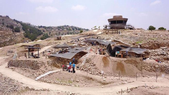 Arqueólogos descobrem a cidade antiga de Siló