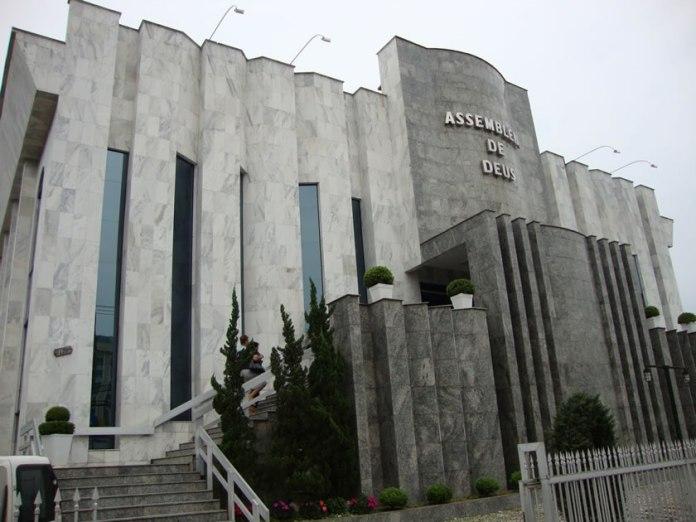Templo Central da Assembleia de Deus em Joinville (SC)