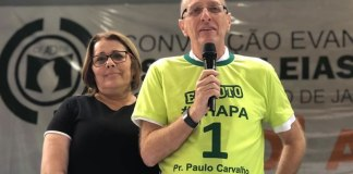 CEADER reelege o pastor Paulo Carvalho para presidente