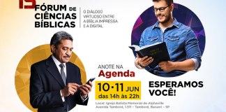 15º Fórum de Ciências Bíblicas aborda diálogo entre a Bíblia impressa e a digital
