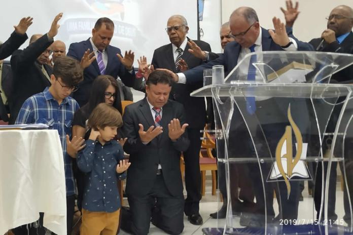 Pr. Nicomedes Freitas Machado é o novo líder da Assembleia de Deus em Vitória