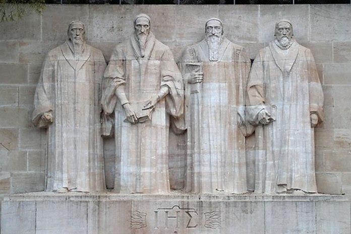 Monumento em homenagem à Reforma Protestante em Genebra