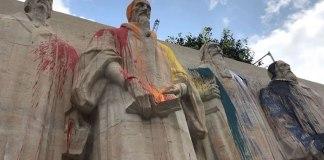 Monumento em homenagem à Reforma Protestante em Genebra é vandalizado