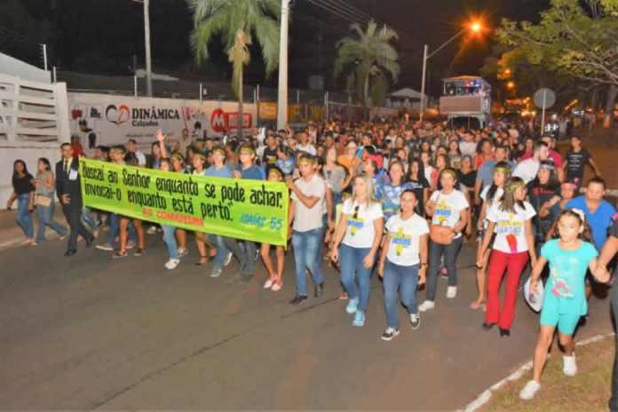 Mais de 20 mil pessoas glorificam a Deus na Marcha para Jesus em Araguaína (TO)