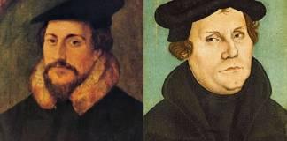 Reforma Protestante: As diferenças entre Martinho Lutero e João Calvino