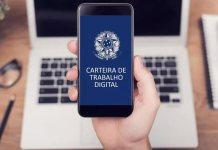 Carteira de trabalho digital: registros serão realizados diretamente de forma digital