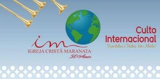 """""""Trombetas e Festas, um Alerta!"""" – Evento mundial da Igreja Cristã Maranata"""